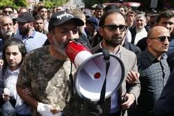 اعتراضات مردمی در ارمنستان