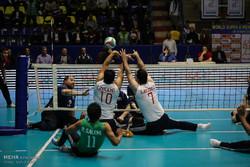 پیروزی مردان والیبال نشسته ایران برابر کره جنوبی