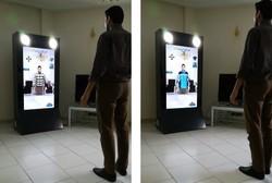 طراحی و ساخت آینه جادویی برای اتاق پرو