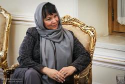 Kristina Radej, the Slovenian ambassador to Tehran
