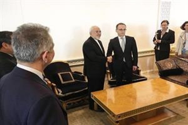 Iranian, German FMs discuss JCPOA, Syrian crisis