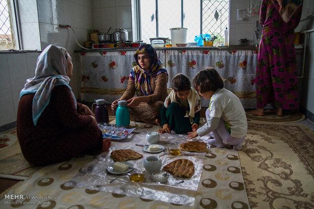 المرأة التركمانية في ايران