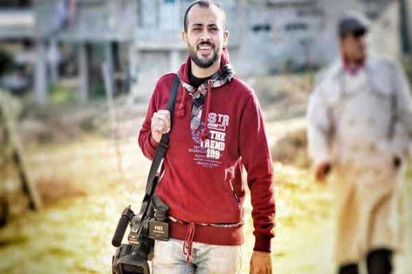 «احمد ابو حسین» خبرنگار فلسطینی شهید شد