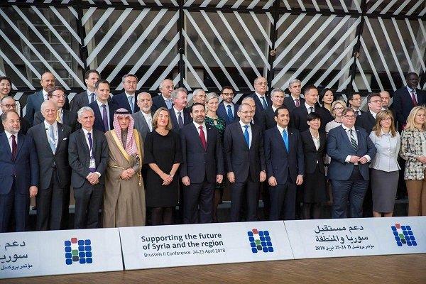 دومین کنفرانس اتحادیه اروپا در خصوص سوریه برگزار شد