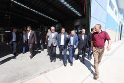 بازدید تعدادی از نمایندگان مجلس از منطقه آزاد ارس