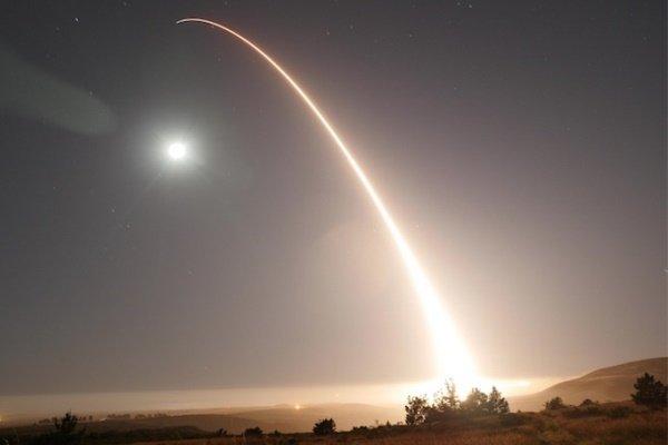 آمریکا یک فروند موشک «مینوتمن ۳» آزمایش کرد