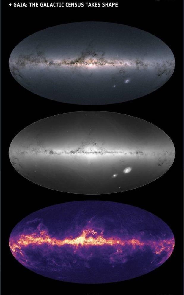 نقشه سه بعدی از ۱.۷ میلیارد ستاره کهکشان راه شیری تهیه شد - خبرگزاری مهر