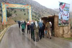 صعود سراسری به ارتفاعات بازیدراز در استان کرمانشاه آغاز شد