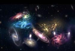 رصد خوشه کهکشانی با حجم معادل هزار میلیارد برابر خورشید