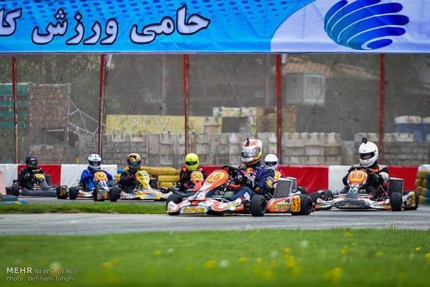 First edition of Karting championship held in Iran
