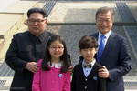 Kore sınırında sürpriz görüşme