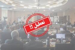 لغو جلسات شورای شهرکرج قانونی نیست