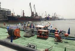 نمایشگاه دستاوردهای پژوهشی علوم دریایی خرمشهر افتتاح شد