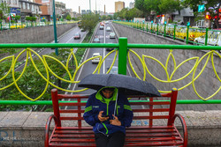 سامانه بارشی در کشور فعال خواهد ماند/ هوای تهران نیمه ابری