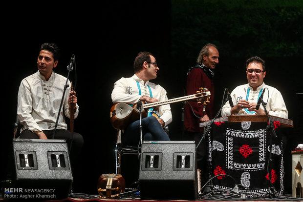 حفلة موسيقية للفنان ايرج رحمانبور