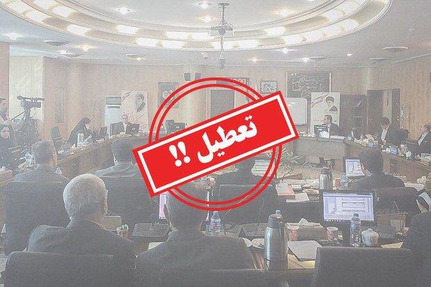 کارت زرد دیرهنگام فرماندار به رئیس شورای شهر کرج/ابلاغ تذکر کتبی