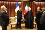 روحانی و ماکرون در نیویورک دیدار می کنند