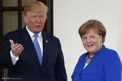 جرمن چانسلر کی امریکی صدر سے ملاقات