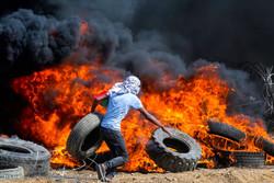 ادامه تظاهرات ضد صهیونیستی در غزه