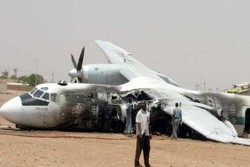 لیبیا میں ایک فوجی طیارہ گر کر تباہ/ 3 افراد ہلاک