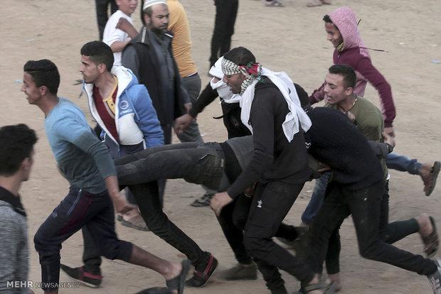 Gazze'deki Siyonist karşıtı gösteriler