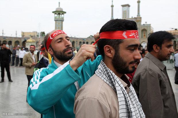 تجمع جوانان عاشورايى هيأت رزمندگان اسلام سراسر كشور