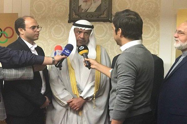 شیخ احمد: از حضور در ایران خوشحالم