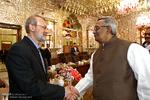 دیدار فیاض حسین دبیر کل حزب کارگران بنگلادش با علی لاریجانی رئیس مجلس شورای اسلامی