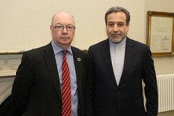 UK minister of state discusses JCPOA with Araghchi