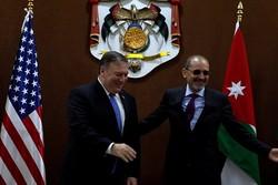 وزرای خارجه اردن و آمریکا دیدار کردند