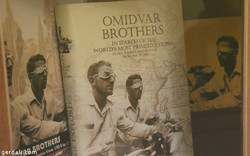 "A book cover reading ""Omidvar Brothers: In Search of the World's Most Primitive Tribes from 1954 to 1964"""