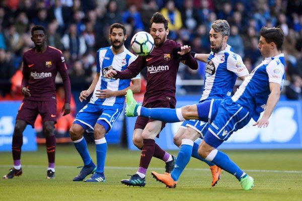 بارسلونا قهرمان زودهنگام لالیگا شد/ دومین جام فصل آبی اناریها