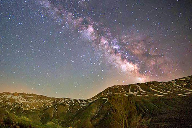 فروغ گردشگری نجوم درآسمان استان مرکزی/روستای وفس محدوده مستعد رصد