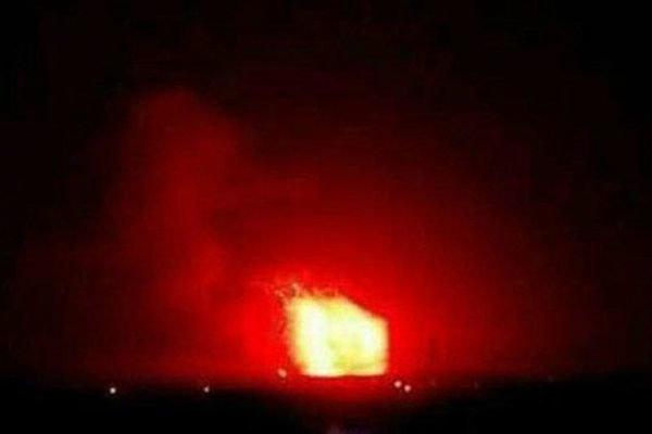 فلم/ شام کے صوبہ حلب اور حماہ پر میزائلوں سے حملہ