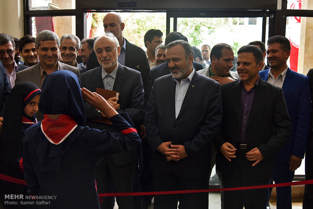 2nd Atomic Energy High School opens in Mashhad