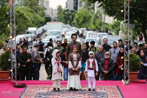 Street theaters staged in Tehran