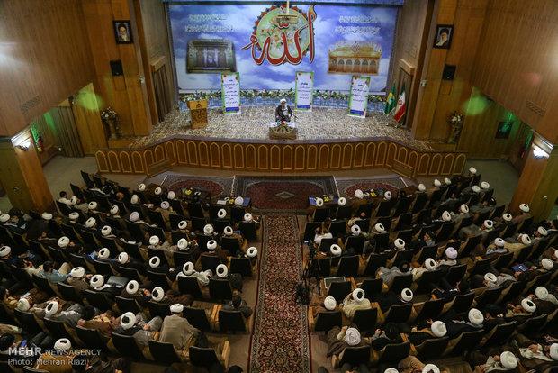 اجلاس اساتید حوزه های علمیه استان تهران