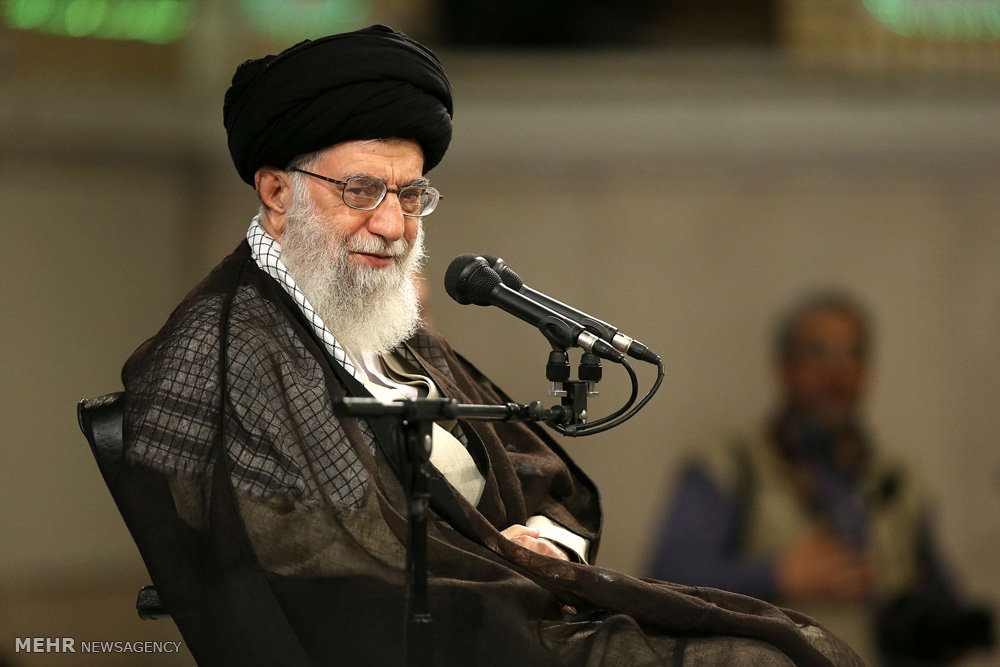 CORRECTED - Iran leader: U.S. pushes Riyadh to confront Tehran, stirs crisis