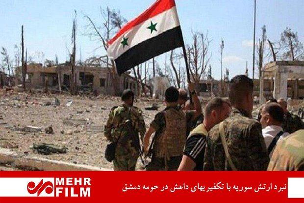 Suriye ordusu IŞİD'e karşı mücadelesini sürdürüyor