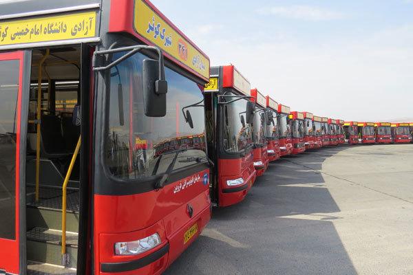 سهم ۱۲درصدی اتوبوسهای تهران در آلودگی هوا