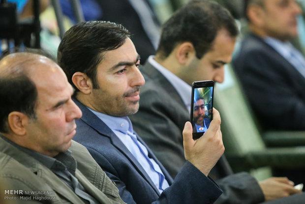 Uluslararası Tahran Kitap Fuarı Açılış Töreni