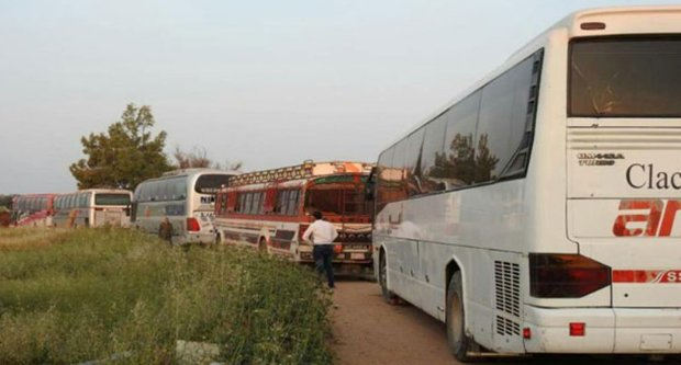First stage of al-Fu'ah, Kafriya evacuation deal underway