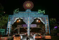 مراسم احياء احتفال النصف من شعبان في طهران /صور