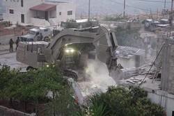 رژیم صهیونیستی درصدد تخریب دو ساختمان مسکونی در الخلیل