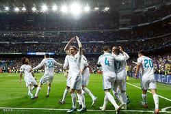 دیدار تیم های فوتبال رئال مادرید و بایرن مونیخ