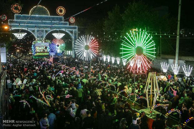 مراسم احياء احتفال النصف من شعبان في طهران