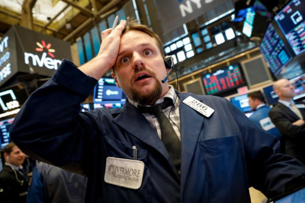 سقوط سنگین والاستریت با نگرانی از رشد اقتصادی جهان