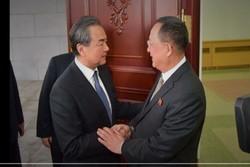 دیدار وزیران خارجه کره شمالی و چین در پکن