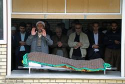 مراسم خاکسپاری پیشکسوت کشتی کردستان