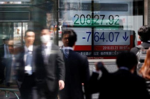 سهام آسیایی اندکی رشد کرد/ کاهش نگرانی سرمایه گذاران از رکود,